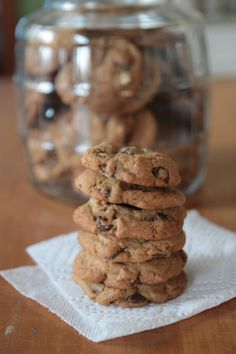 salted chocolate chip pecan cookies