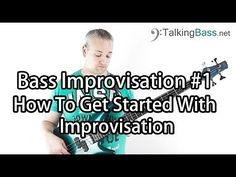 Bass Solo Improvisation Lesson #1 - Getting Started - YouTube