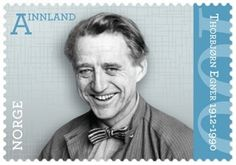 Stamp: Thorbjorn Egner (Norway) (Personal Anniversaries) Mi:NO First Day Covers, Stamp Collecting, Postage Stamps, Norway, Famous People, Anniversary, Collection, Envelopes, Postcards