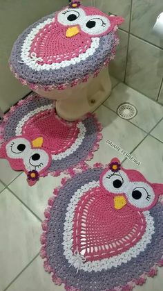 Crochet Bunny, Crochet Baby Hats, Baby Blanket Crochet, Owl Crochet Patterns, Owl Patterns, Crochet Carpet, Crochet Diagram, Crochet Crafts, Simply Crochet