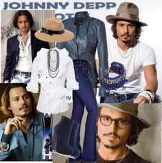 """Inspired by Johnny .."" by elenarodriguez-1 on Polyvore"