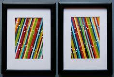 13A Paint Chip Art Compiled the 3 R's blog Zipper8Design