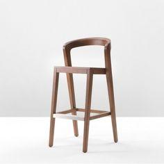 Chaise de bar confortable et durable