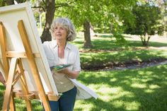 You are never too old to explore a new hobby or learn a new skill. It's good for your health and your brain!