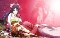 Beautiful Kaoru and Kenshin wallpaper <3