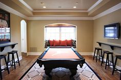 Trade The Formal Dining Room For More E Pool Tablesdining