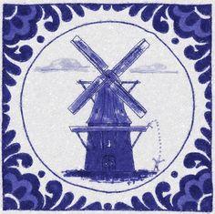 Molen, Delfts Blauw, Paddy Eline