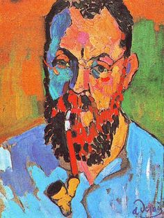 Derain - Portrait of Matisse