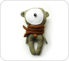 liubartas and his friends are a motley group of stuffed animals that will make you smile, whether you're 1 or Doll Toys, Dolls, Handmade Stuffed Animals, Homemade Toys, Love Bear, Bear Doll, Felt Animals, Softies, Puppets