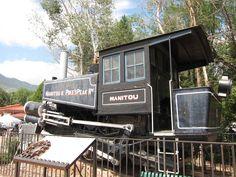 Manitou Springs Pikes Peak old train coach