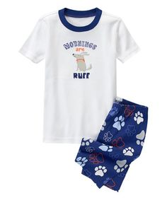 NEW Gymboree Off to Catch Some Winks Gymmies Shorts PJs Size 3 5 6 7 8 Summer
