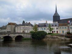 romorantin france | Romorantin-Lanthenay : Église Saint-Étienne, maisons de la ville ...