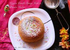BASIC VANILLA SPONGE CAKE IN PRESSURE COOKER | EGGLESS SPONGE CAKE RECIPE