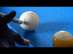 How to Curve a Pool Ball off of a Rail | Masse Tutorial - YouTube