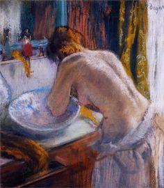 Edgar Degas - The Toilette, 1884-1886