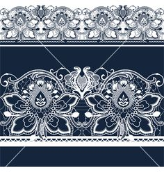 Free lace vector by belarusochka on VectorStock®