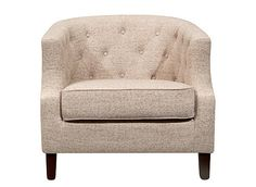 This Amelia chenille accent chair.  Wish this came in different colors.  The back is supportive and seat is deep enough to support my legs.