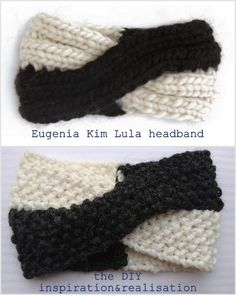 DIY Inspired Eugenia Kim Lula Headband- this is classically adorable
