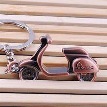 2015 neue Motorrad Roller Schlüsselanhänger Schlüsselanhänger Klassische 3D Anhänger Schlüsselanhänger Kreatives Geschenk 1VAF 4TF1(China (Mainland))
