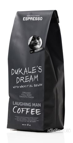 Laughing Man Espresso thedieline.com
