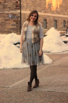 Look What I Got: Tulle and Owls Wear  #anthropologie #tulle #stripe addict