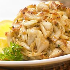 BEST ever crab cakes. No filler, just the delicate, sweet taste of crab.