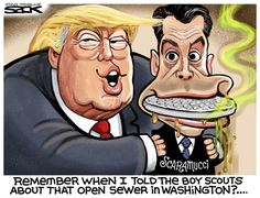 Steve Sack - The Minneapolis Star Tribune - Scaramucci Sewer - English - Scaramucci,press,New Yorker,communications,director,White House,vulgarity
