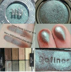 Urban decay - wet n wild shadow DUPE. Eyeshadow Dupes, Skincare Dupes, Beauty Dupes, Beauty Makeup, Eye Makeup, Top Beauty, Drugstore Makeup, Skincare Routine, Beauty Stuff