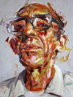 Campden Gallery - Painters - Paul Wright - He lives in a Hotel
