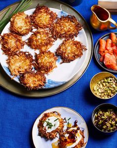 Take a break from your online shopping to truly savor the season with recipes from our December 2020 issue of Better Homes & Gardens® magazine. Holiday menus are as varied as our winter family traditions, but we've got a little something for everyone here. #latkes #sidedish #holidayrecipes #potatosidedish #bhg