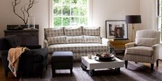 comfy living room designed by Schoolhouse Electric and Supply Co.