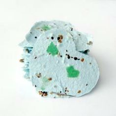 Recycled Paper Seed Tags