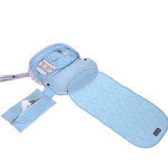 Amazon | Gitta Compact Portable Baby Diapering Nappy Clutch Mom Handbag, Pink Stripes by Gitta | ベビー&マタニティ オンライン通販