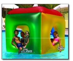 The Cube Floating Habitat Water Float Toy for Swimming Pool & Beach - Amazon.com