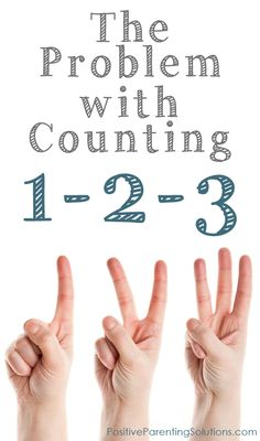 Counting 1-2-3 to get kids to listen is a popular strategy especially among parents of young children.  The problem is, it really doesn't work long-term. Here are tips on what DOES work.