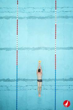 Die dürfen in keiner Schwimmtasche fehlen: Die Sport-Thieme Finger Paddles sind Ideal für das Technik- und Krafttraining aller Schwimmstile.