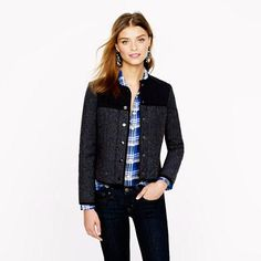 Quilted jacket from J.Crew #poachit