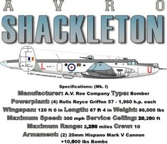 WARBIRDSHIRTS.COM presents Bomber Warbirds, available on Polos, Caps, T-shirts, Sweatshirts and more. featuring here in our Bomber collection the Shackleton