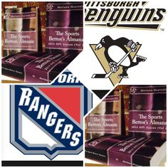 """4/16/15 NHL Playoffs : #Pittsburgh #Penguins vs #NewYork #Rangers (Take: Rangers -175,Under 5 Goals) (THIS IS NOT A SPECIAL PICK ) """"The Sports Bettors Almanac"""" SPORTS BETTING ADVICE  On  95% of regular season games ATS including Over/Under   1.) """"The Sports Bettors Almanac"""" available at www.Amazon.com  2.) Check for updates   Marlawn Heavenly VII ( SportyNerd@ymail.com )  #NFL #MLB #NHL #NBA #NCAAB #NCAAF #LasVegas #Football #Basketball #Baseball #Hockey #SBA #Boxing #Business #Entrepreneur…"""