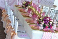 #PrincessThemeParty #PinkandGold #JuiceJars Princess Theme Party, Pink And Gold, Parties, Jar, Fiestas, Party, Jars, Glass, Holidays