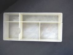 Train Case Replacement Tray Makeup Vanity Insert Tray Cosmetic Tray AS IS  #Unbranded