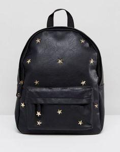 Yoki Fashion - Zaino con borchie a stella