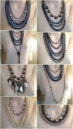 Ways to wear our Montana necklace. sarakranz.mypremierdesigns.com~ Access code: GLAM  #pdbling #pdstyle #pdcombos