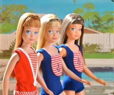 Skipp4, redh5, blonde and brunette from the collection of Barry Sturgill.