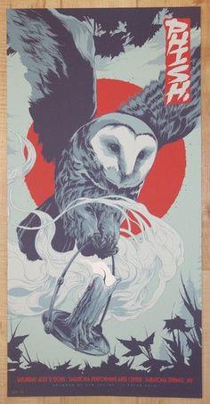 2016 Phish - SPAC II Silkscreen Concert Poster by Ken Taylor