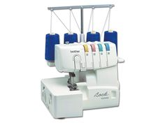 Lend beautiful finished edges to your sewing projects with this serger sewing machine. Visit JOANN for Brother thread sergers and other sewing machines. Sewing Basics, Sewing Hacks, Sewing Crafts, Sewing Projects, Sewing Ideas, Sewing Patterns, Diy Crafts, Brother 1034d Serger, Husqvarna Viking