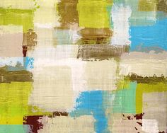 Abstract art abstract painting color block bright by AmyLighthall, $20.00