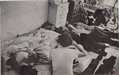 This photo was in Life Magazine in 1968 and depicts the aftermath of a big party at our pad on NYC's Lower East Side. Some guy we sort of knew brought a lot of weed & wine over the night before. Before we all awoke he quietly brought a Life photographer inside to shoot the snoring scene. He sold us out for $200. That's my head against the right side of the dresser in the center. No one knew until it the issue came out. My Mom was really pissed when she saw it.