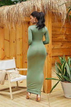 Casual Long Sleeve Simple High Stretchy Bodycon Dress - - Casual Long Sleeve Simple High Stretchy Bodycon Dress Source by Beautiful Muslim Women, Beautiful Asian Girls, Tight Dresses, Sexy Dresses, Simple Dresses, Elegant Dresses, Short Dresses, Sexy Women, Muslim Women Fashion