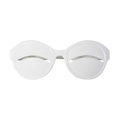 """Iconic Courreges Sunglasses aka """"eskimo eclipse"""" 